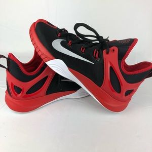 Nike Shoes - Nike Zoom HyperRev Red Black Basketball Shoes